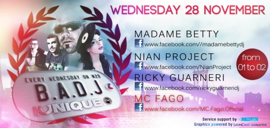 Kunique Badj on Radio M2O on Air Madame Betty November 28-2012