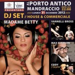 Madame Betty 2012/2013 New Year's Party @ Porto Antico (GE)