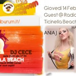 Madame Betty & Ania J Guest @ Radio Maliboom Boom (Milano) Wed. Feb.14