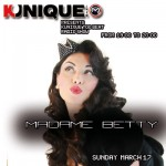 Madame Betty Guest On Air @ Kunique Too Beat (Radio M2O) March 17