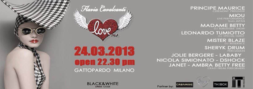 Madame Betty Guest @ Love Me c/o Gattopardo (Mi) March 24
