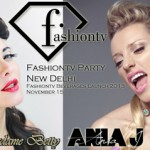 Madame Betty & Ania J Special Guest @ Fashiontv Party (New Delhi India) Nov 15